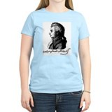 Wolfgang Amadeus Mozart Women's Pink T-Shirt