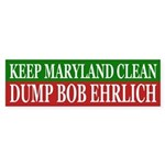 Keep Maryland Clean (bumper sticker)