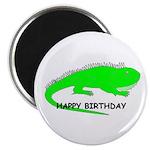 HAPPY BIRTHDAY IGUNA Magnet