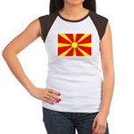 Macedonia Women's Cap Sleeve T-Shirt