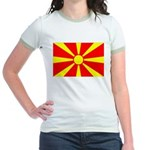 Macedonia Jr. Ringer T-Shirt