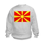 Macedonia Kids Sweatshirt