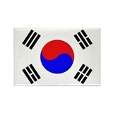 Seoul Rectangular Magnet