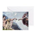 Creation/Labrador (Y) Greeting Card