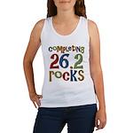 Completing 26.2 Rocks Marathon Run Women's Tank To