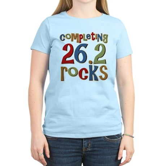 Completing 26.2 Rocks Marathon Run Women's Light T