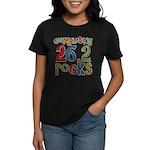 Completing 26.2 Rocks Marathon Run Women's Dark T-