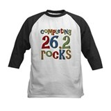 Completing 26.2 Rocks Marathon Run Tee