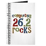Completing 26.2 Rocks Marathon Run Journal