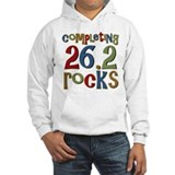 Completing 26.2 Rocks Marathon Run Jumper Hoody