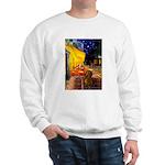 Cafe /Dachshund Sweatshirt
