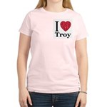 I Love Troy Women's Light T-Shirt