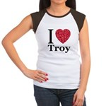 I Love Troy Women's Cap Sleeve T-Shirt