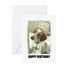 HAPPY BIRTHDAY JACK RUSSEL LOOK Greeting Card