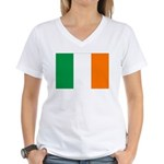 Ireland Women's V-Neck T-Shirt