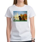 Sailboats / Dachshund Women's T-Shirt