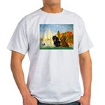 Sailboats / Dachshund Light T-Shirt