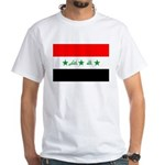 Iraq White T-Shirt
