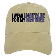 I Wear Light Blue For My Brother 5 Baseball Cap