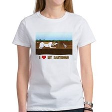 Love Cartoon Earthdog Tee