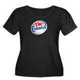 The Commish Women's Plus Size Scoop Neck Dark T-Sh