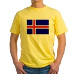 Iceland Yellow T-Shirt