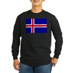 Iceland Long Sleeve Dark T-Shirt