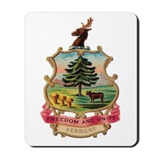 Vermont Coat of Arms Mousepad
