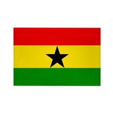 Ghana Rectangle Magnet (10 pack)