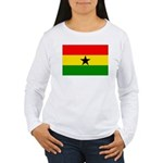 Ghana Women's Long Sleeve T-Shirt