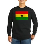 Ghana Long Sleeve Dark T-Shirt