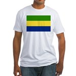 Gabon Fitted T-Shirt