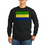 Gabon Long Sleeve Dark T-Shirt