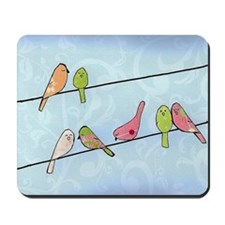 Seven Birds Mousepad