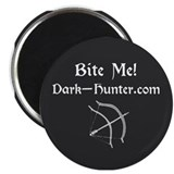 "BITE ME design fan section 2.25"" Magnet (100 pack)"