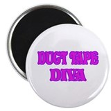 Duct Tape Diva 2.25&quot; Magnet (10 pack)