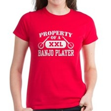 Property of a Banjo Player Tee