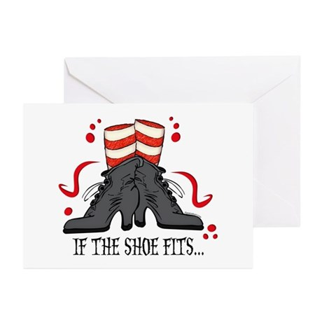 If The Shoe Fits Greeting Cards (Pk of 10)