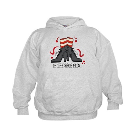 If The Shoe Fits Kids Hoodie