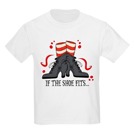 If The Shoe Fits Kids Light T-Shirt