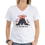 If The Shoe Fits Women's V-Neck T-Shirt