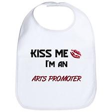 Kiss Me I'm a ARTS PROMOTER Bib
