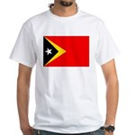 East Timor White T-Shirt