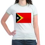 East Timor Jr. Ringer T-Shirt