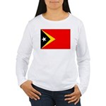 East Timor Women's Long Sleeve T-Shirt