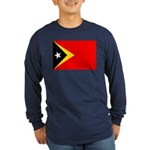 East Timor Long Sleeve Dark T-Shirt