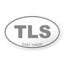 East Timor Oval Decal