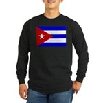 Cuba Long Sleeve Dark T-Shirt