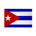 Cuba Rectangle Magnet (100 pack)