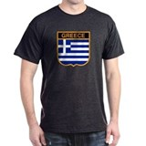 Greek Black T-Shirt